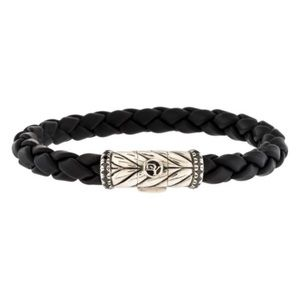 DAVID YURMAN • Black Diamond Chevron Bracelet